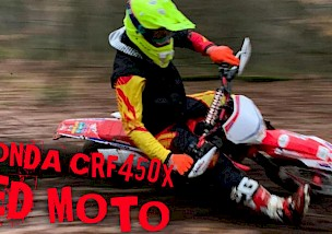 HONDA CRF450X RED MOTO SONDEREDITION PRAXISTEST